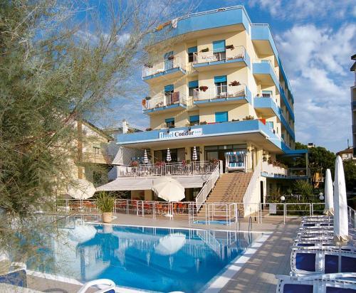 Hotel condor 3 stelle jesolo fronte mare con piscina - Hotel jesolo con piscina fronte mare ...